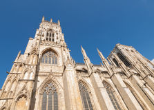 York minster cathedral of York England Stock Photo