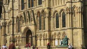 York Minster - City of York - England stock footage
