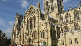 York Minster - City of York - England stock video