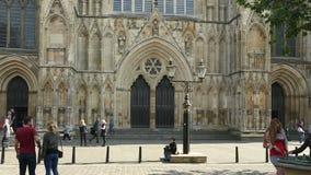 York Minster - City of York - England stock video