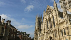 York Minster - City of York - England stock video footage