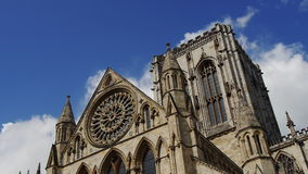 York Minster stock video footage