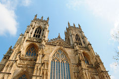 York Minster dans Yorkshire, Angleterre Photos stock