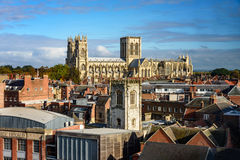 York Minster England Stock Photo