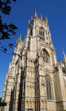 York Minster. Facade from street level Royalty Free Stock Photos