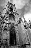York Minster. High contrast in black & white Royalty Free Stock Photos