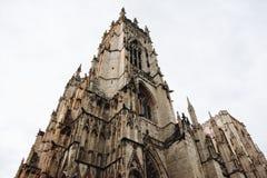 York Minster Il Regno Unito Fotografia Stock