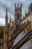 York Minster, Inghilterra Fotografie Stock Libere da Diritti