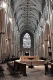 York Minster Nave Stock Images