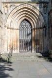 York Minster South Transept Exterior door Royalty Free Stock Image