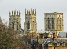 York Minster spires Royalty Free Stock Photos
