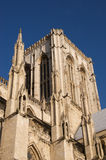 York Minster in sunshine. York Minster bathed in winter sunshine. York. England Stock Photo