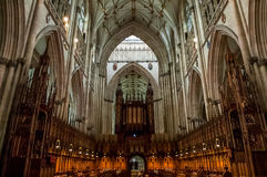 York Minster in York, England Royalty Free Stock Photography