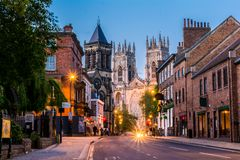 Free York Night View Stock Photography - 55435562