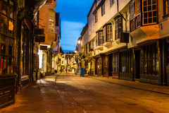 York old strret Stock Photography