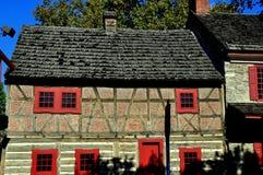 York PA: 1741 guld- Karlavagnen krog Arkivbilder