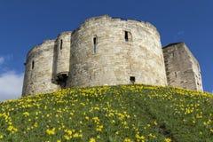 York-Schloss Stockfotos