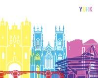 York-Skylineknall Stockbilder
