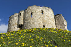 York slott Arkivfoton