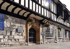 York Tudor Building Royalty Free Stock Images