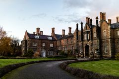York, United Kingdom - 11/18/2017: One of the old building`s on. The York St. John University campus during the day Royalty Free Stock Image