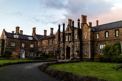 York, United Kingdom - 11/18/2017: One of the old building`s on. The York St. John University campus during the day Stock Image