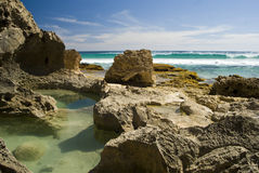 Yorke skały baseny Zdjęcia Stock