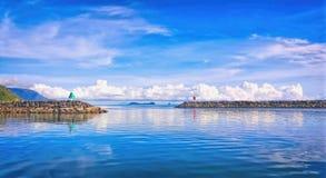 Yorkeys Knob Cairns view from marina Stock Photo