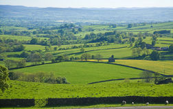 Yorkishire dales. Yorkshire, UK, border of national park yorkishire dales Royalty Free Stock Photography