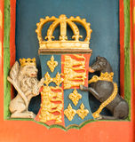 Yorkist coat of arms Stock Photography