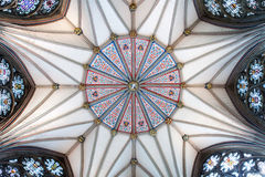 Yorkminster Chapter House Ceiling Royalty Free Stock Images