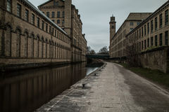 Yorkshire Canal Stock Photography