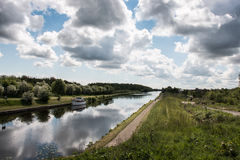 Yorkshire Canal royalty free stock image