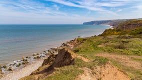 Yorkshire Coast Near Filey, UK Royalty Free Stock Photography
