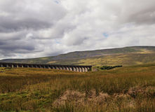 Yorkshire Dales & Aqueduct stock photography