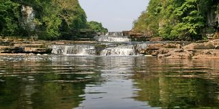 Yorkshire Dales, Aysgarth Falls Royalty Free Stock Image