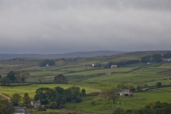 Yorkshire Dales. A classic landscape of Yorkshire Dales in England Royalty Free Stock Images