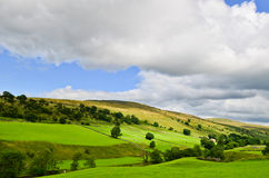 Yorkshire Dales landscape. The stunning Yorkshire Dales landscape on a summers day Royalty Free Stock Photography