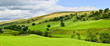 Yorkshire Dales landscape Royalty Free Stock Photos