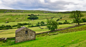 Yorkshire Dales landscape. The stunning Yorkshire Dales landscape on a summers day Stock Photos