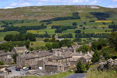 Yorkshire Dales National Park - England. Village in the North Yorkshire Dales National Park in the north east of England Stock Photo