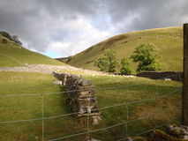 Yorkshire Dales National Park valley landscape Stock Photography