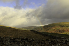 Yorkshire Dales. A rural view of the Yorkshire Dales National Park, England Royalty Free Stock Image