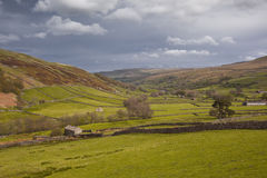 Yorkshire Dales scenery. Swaledale in the Yorkshire Dales National Park Stock Photography