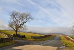 Yorkshire dalväg England Royaltyfri Foto