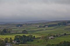 Yorkshire doliny Obrazy Royalty Free
