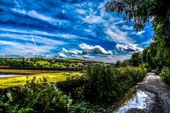 Yorkshire du nord, Royaume-Uni Photographie stock