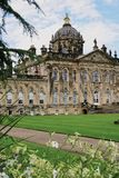 Exterior view of Castle Howard in Yorkshire England stock image