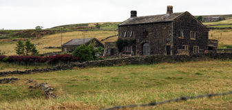Yorkshire Farmhouse Stock Image