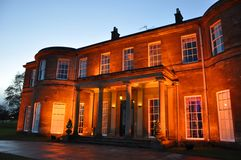 Yorkshire harrogate mansion wedding venue Royalty Free Stock Photo